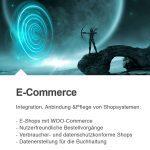 Integration, Anbindung und Pflege von Shopsystemen (speziell WOO-Commerce).