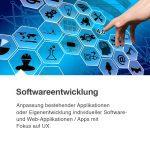 Anpassung bestehender Applikationen oder Eigenentwicklung individueller Software- und Web-Applikationen / Apps mit Fokus auf UX.