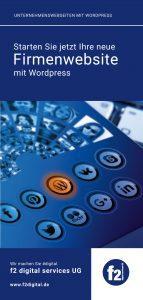 Informationene anfordern WordPress für KMU im Bergischen Land